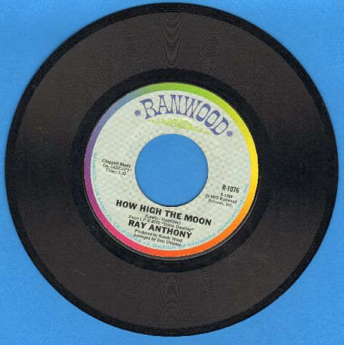 Anthony, Ray - How High The Moon/My Spanish Heart - EX8/ - 45 rpm Records