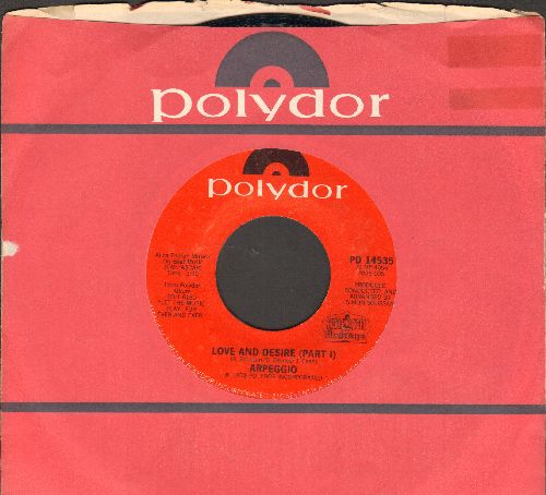 Arpeggio - Love And Desire (Parts 1 + 2) (with Polydor company sleeve) - NM9/ - 45 rpm Records