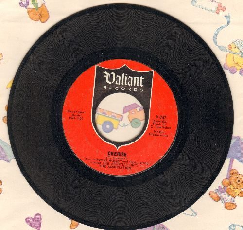 Association - Cherish/Don't Blame It On Me - EX8/ - 45 rpm Records