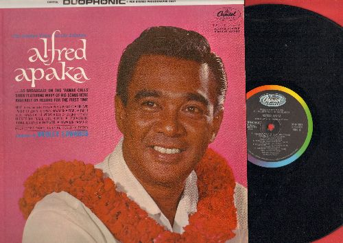 Apaka, Alfred - The Golden Voice Of The Islands: Blue Hawaii, Farewell, Hawaiian Paradise, Tiare O Tahiti (vinyl Duophonic LP record) - NM9/NM9 - LP Records