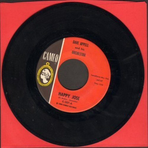 Appell, Dave & His Orchestra - Happy Jose/Noivous - EX8/ - 45 rpm Records