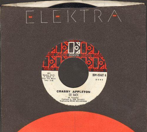 Appleton, Crabby - Go Back/Try (with Elektra company sleeve) - EX8/ - 45 rpm Records