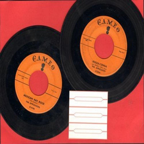 Applejacks - 2 for 1 Special: Mexican Hat Rock/Rocka-Conga (2 vintage first issue 45rpm records with 3 blank juke box labels for the price of 1!) - EX8/ - 45 rpm Records