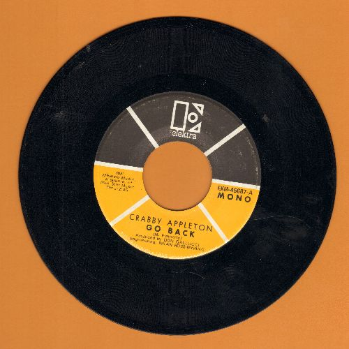 Appleton, Crabby - Go Back/Try - NM9/ - 45 rpm Records