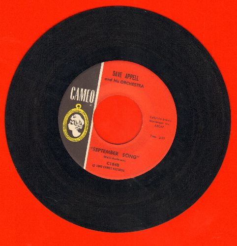 Appell, Dave & His Orchestra - September Song/Theme From -The Young Ones- - EX8/ - 45 rpm Records