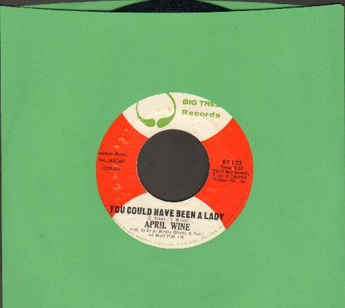 April Wine - You Could Have Been A Lady/Teacher - EX8/ - 45 rpm Records