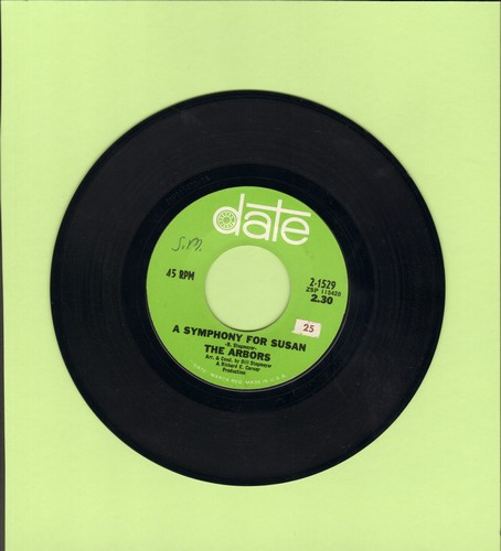 Arbors - A Symhony For Susan/Love Is The Light - EX8/ - 45 rpm Records