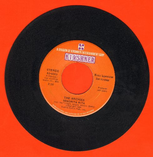 Archies - Senorita Rita/Who's Your Baby? - EX8/ - 45 rpm Records