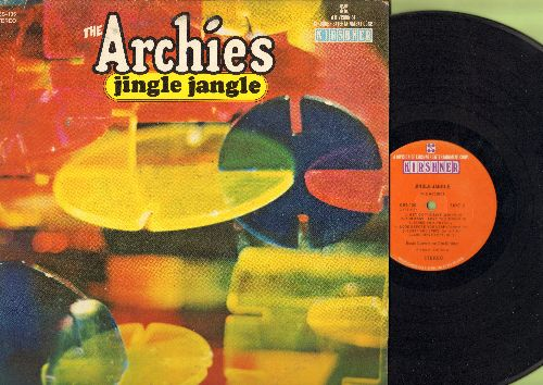 Archies - Jingle Jangle: Justine, Get On The Line, Sugar And Spice, Archie's Party, Nursery Rhyme, Seniorita Rita (Vinyl STEREO LP record) - VG7/VG7 - LP Records