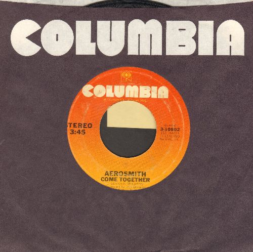 Aerosmith - Come Together/Kings And Queens (with Columbia company sleeve) - EX8/ - 45 rpm Records