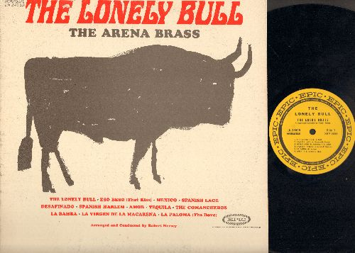 Arena Brass - The Lonely Bull: Eso Beso (That Kiss), Tequila, Spanish Harlem, La Bamba, La Paloma (vinyl MONO LP record) - NM9/VG7 - LP Records