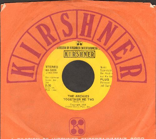 Archies - Together We Two/Everything's Alright (DJ advance pressing with Kirshner company sleeve) - EX8/ - 45 rpm Records