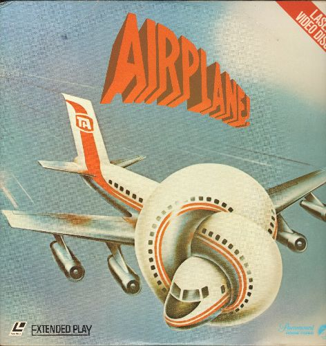 Airplane! - Airplane! - LASERDISC Version of the Cult-Classic Disater-Movie-Spoof (This is a LASERDISC, NOT any other kind of media!) - NM9/EX8 - LaserDiscs