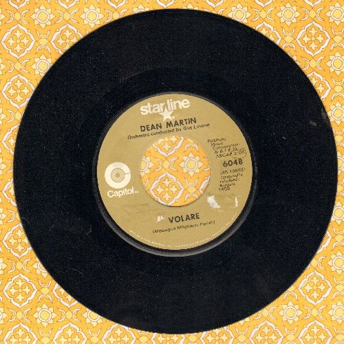Martin, Dean - Volare/Return To Me (double-hit re-issue) - EX8/ - 45 rpm Records