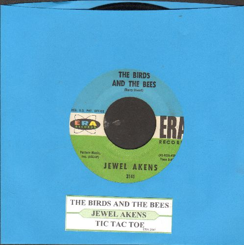 Akens, Jewel - The Birds And The Bees/Tic Tac Toe (wol) - EX8/ - 45 rpm Records