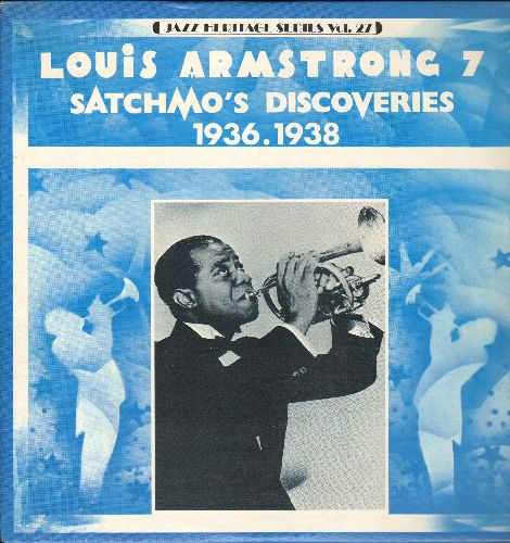 Armstrong, Louis - Satchmo's Discoveries 1936-1938: Cuban Pete, On The Sunny Side Of The Street, Hawaiian Hospitality (vinyl LP record, re-issue of vintage Jazz recordings) - NM9/NM9 - LP Records