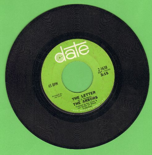 Arbors - The Letter/Most Of All - EX8/ - 45 rpm Records