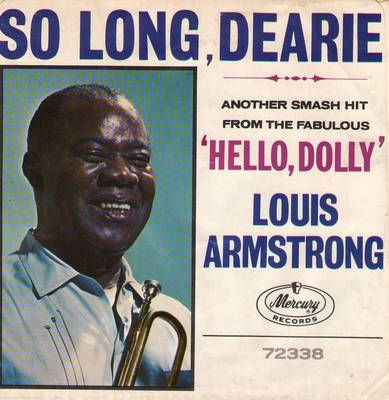 Armstrong, Louis - So Long Dearie/Pretty Little Missy (with picture sleeve) - M10/NM9 - 45 rpm Records