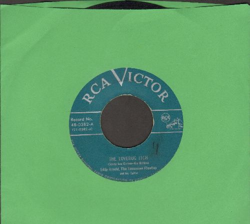 Arnold, Eddy - The Lovebug Itch/A Prison Without Walls (green label first pressing) - VG7/ - 45 rpm Records