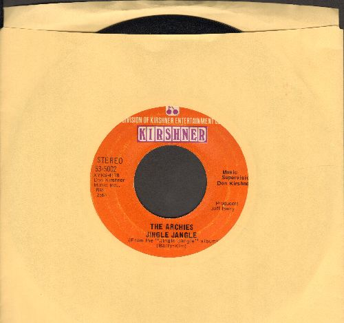 Archies - Jingle Jangle/Justine  - EX8/ - 45 rpm Records