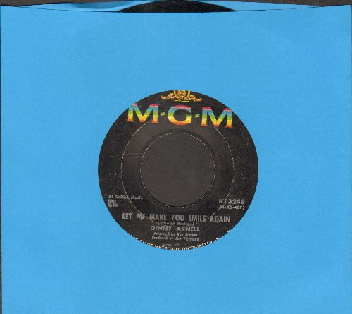 Arnell, Ginny - Let Me Make You Smile Again/Yesterday's Memories - VG7/ - 45 rpm Records