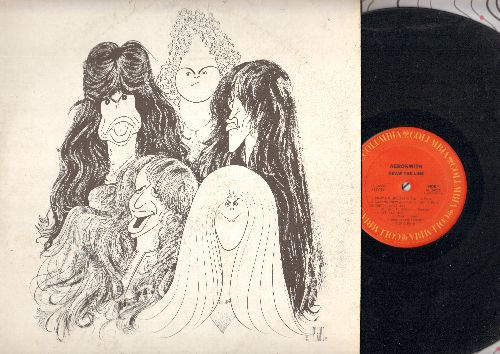 Aerosmith - Draw The Line: Get It Up, Kings And Queens, Milk Cow Blues, Sight For Sore Eyes (vinyl STEREO LP record) - VG7/VG7 - LP Records