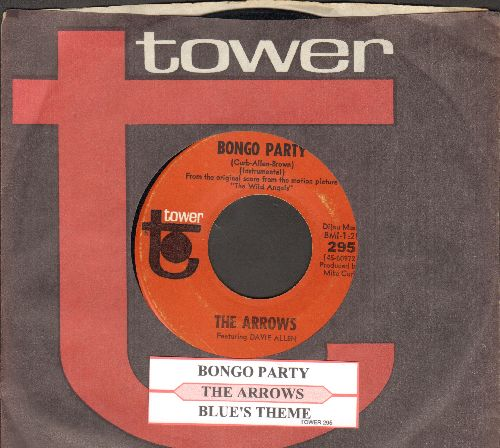 Arrows - Bongo Party/Blue's Theme (with juke box label and Tower company sleeve) - NM9/ - 45 rpm Records