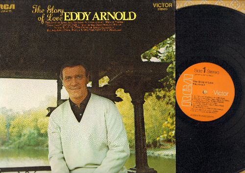 Arnold, Eddy - The Glory Of Love: But For Love, Please Don't Go, Faithfully, The Song Of Long Ago (Vinyl STEREO LP record) - EX8/NM9 - LP Records