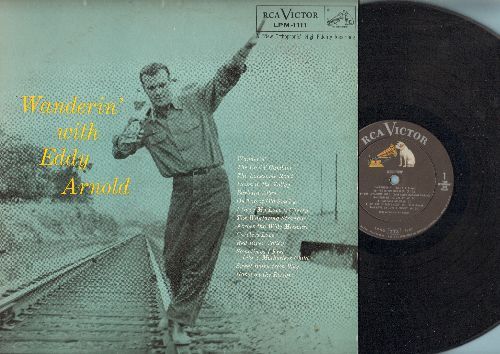 Arnold, Eddy - Wanderin': The Rovin' Gambler, Down In The Valley, I Gave My Love A Cherry, Home On The Range (vinyl MONO LP record) - VG7/VG7 - LP Records