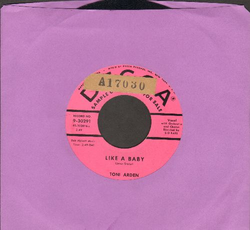 Arden, Toni - Like A Baby/My Empty Heart (DJ advance pressing, sol) - EX8/ - 45 rpm Records