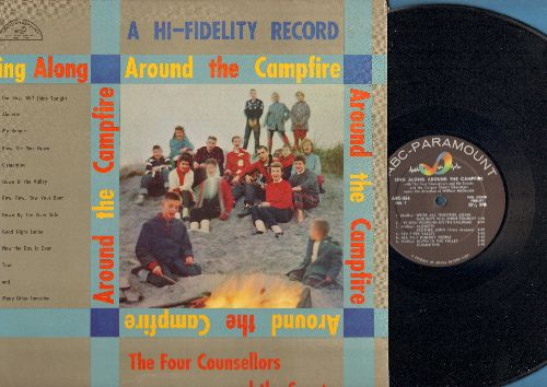 Four Counsellors & The Scouts - Sing Along Around The Campfire - with The Four Counsellors and the Scouts and the Corpus Christi Choristers, directed by William McDonald (Vinyl MONO LP record) - NM9/EX8 - LP Records