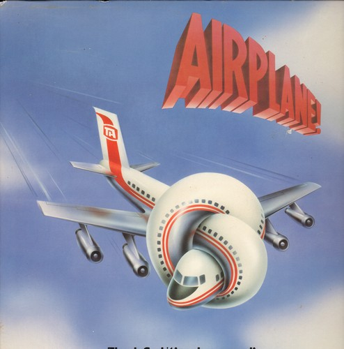 Bernstein, Elmer - Airplane! - Thank God it's only a record!: Original Motion Picture Sound Track, Music by Elmer Bernstein (Vinyl STEREO LP record) - M10/EX8 - LP Records