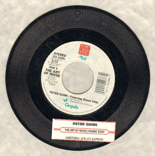 Art Of Noise featuring Duane Eddy - Peter Gunn/Something Always Happens - NM9/ - 45 rpm Records