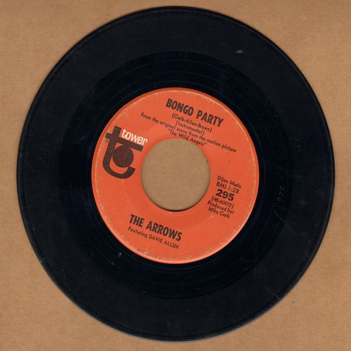 Arrows - Bongo Party/Blue's Theme - EX8/ - 45 rpm Records