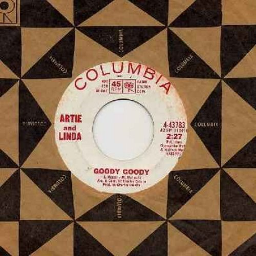 Artie & Linda - Goody Goody (double-A-sided DJ advance copy with Columbia company sleeve) - EX8/ - 45 rpm Records