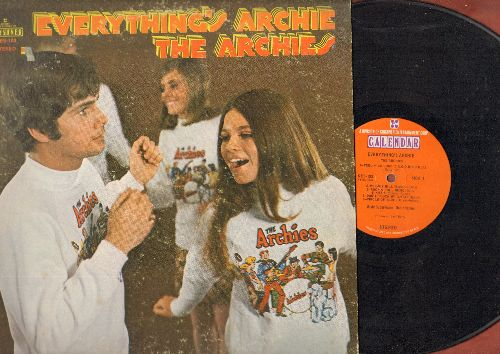 Archies - Everything's Archie: Sugar Sugar, Inside Out - Upside Down, Love Light, Feelin' So Good, Rock & Roll Music, Kissin' (vinyl STEREO LP record) - VG7/VG7 - LP Records