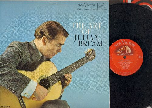 Bream, Julian - The Art Of Julian Bream - Original 1960 Red Seal Pressing (Vinyl MONO LP record) - EX8/VG7 - LP Records