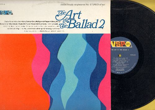 Parker, Charlie, Stan Getz, Benny carter, others - The Art Of The Ballad 2: April In Paris, I Loves You Porgy, I Got It Bad, Frustration, Blue Moon (vinyl STEREO LP record) - NM9/EX8 - LP Records