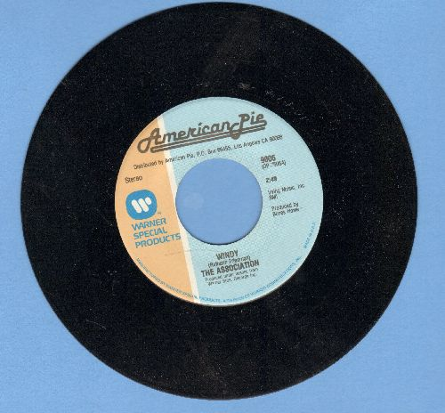 Association - Windy/Morning Girl (double-hit re-issue) - NM9/ - 45 rpm Records