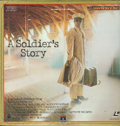 A Soldier's Story - A Soldier's Story - The 1985 Hollywood treatment of the Pulitzer Prize Winning Charles Fuller Play on LASER DISC. - NM9/EX8 - LaserDiscs