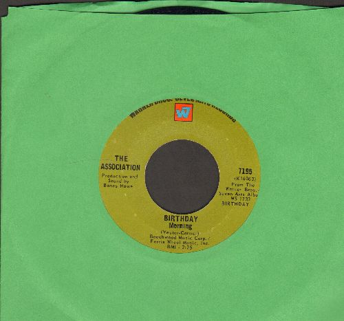 Association - Birthday Morning/Time For Livin'  - NM9/ - 45 rpm Records