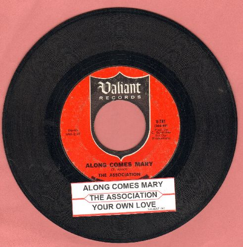 Association - Along Comes Mary/Your Own Love (with juke box label) - VG7/ - 45 rpm Records