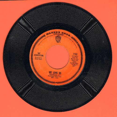 Association - We Love Us/Everything That Touches You - EX8/ - 45 rpm Records