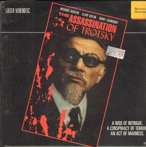 The Assassination Of Trotsky - The Assassination Of Trotsky LASERDISC Starring Richard Burton (Sealed with BB) - SEALED/SEALED - LaserDiscs