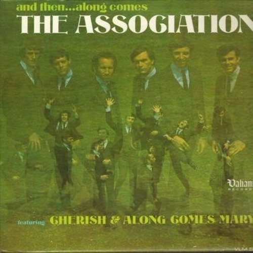 Association - And Then…Along Comes The Association: Cherish, Along Comes Mary, Changes, Enter The Young, Your Own Love (vinyl MONO LP record) - VG7/VG7 - LP Records