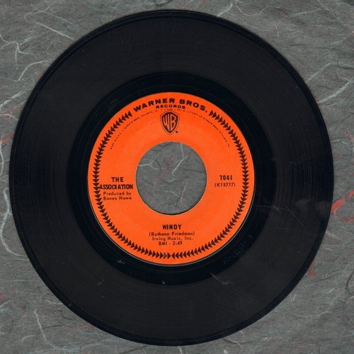 Association - Windy/Sometime  - EX8/ - 45 rpm Records