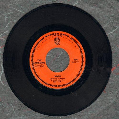 Association - Windy/Sometime  - EX8/ - 45 rpm Records