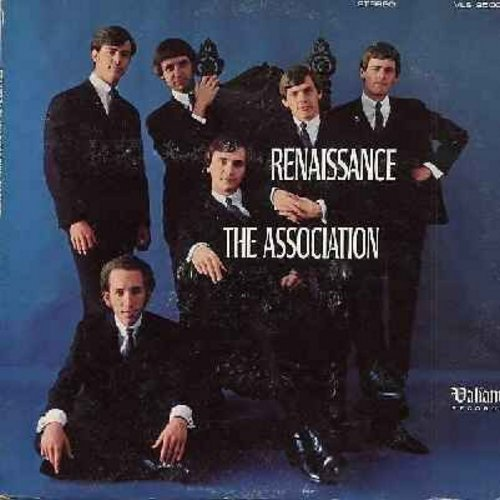 Association - Renaissance: I'm The One, Pandora's Golden Heebie Jeebies, Angeline, Memories Of You, Songs Of The Wind, Looking Glass (Vinyl STEREO LP record) - EX8/VG7 - LP Records