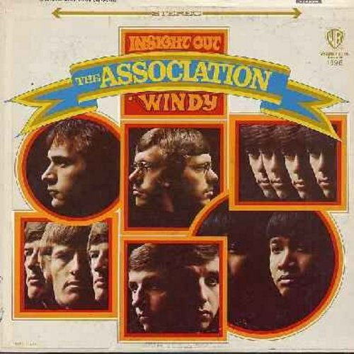 Association - Insight Out: Windy, We Love Us, Never My Love, Happiness Is, Requiem For The Masses (Vinyl STEREO LP record) - EX8/VG7 - LP Records