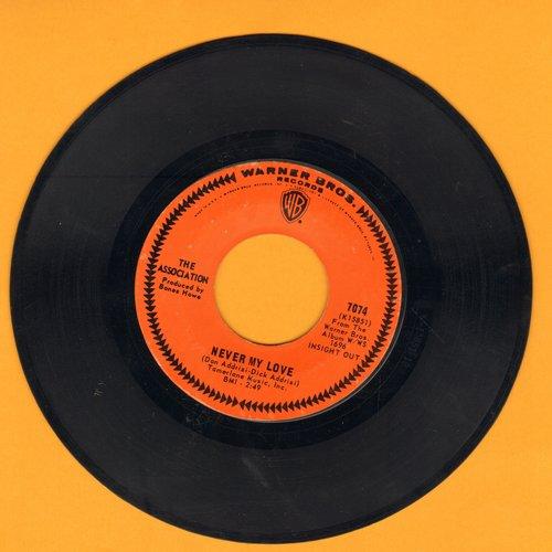 Association - Never My Love/Requiem For The Masses  - EX8/ - 45 rpm Records